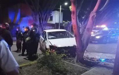 Menor de edad, ebrio, atropelló a policía estatal en Oaxaca