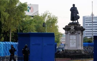 El desplazamiento de Colón en México vuelve como confrontación política
