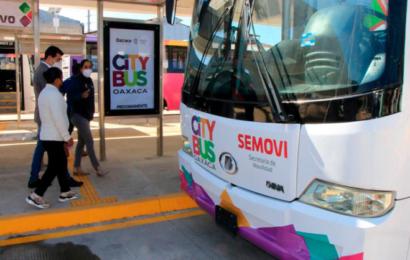 En ruta Citybus Oaxaca; cobra 8 pesos el viaje