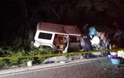 Preliminar de carambola en el Istmo: 1 muerto y 4 heridos