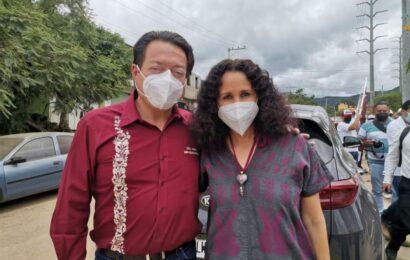 Va Susana Harp por la gubernatura de Oaxaca