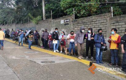 Inicia sin contratiempos jornada emergente de vacunación en Oaxaca